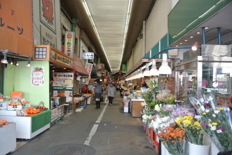 kokura tanga market